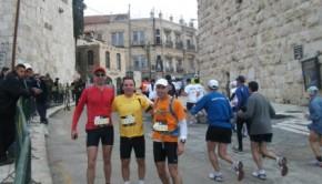 אמיר, אלחנדרו ואני בכניסה לעיר העתיקה
